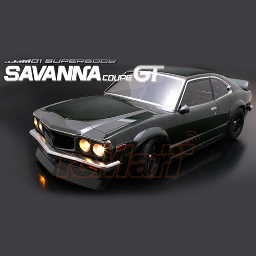 ABC Hobby Mazda Savanna Coupe GT 190mm Body EP 1 10 RC Cars Touring Drift