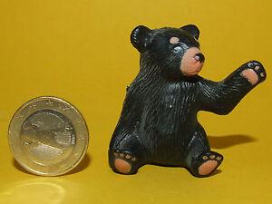 Animals & Dinosaurs Nice S1 K&m Int Gummitier Tierfiguren Tier Wildtier Bear Bär Schwarz