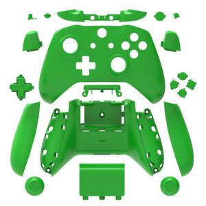 Green-Matt-Xbox-One-S-Controller-Full-Custom-Replacement-Shell-amp-Buttons-Mod-Kit