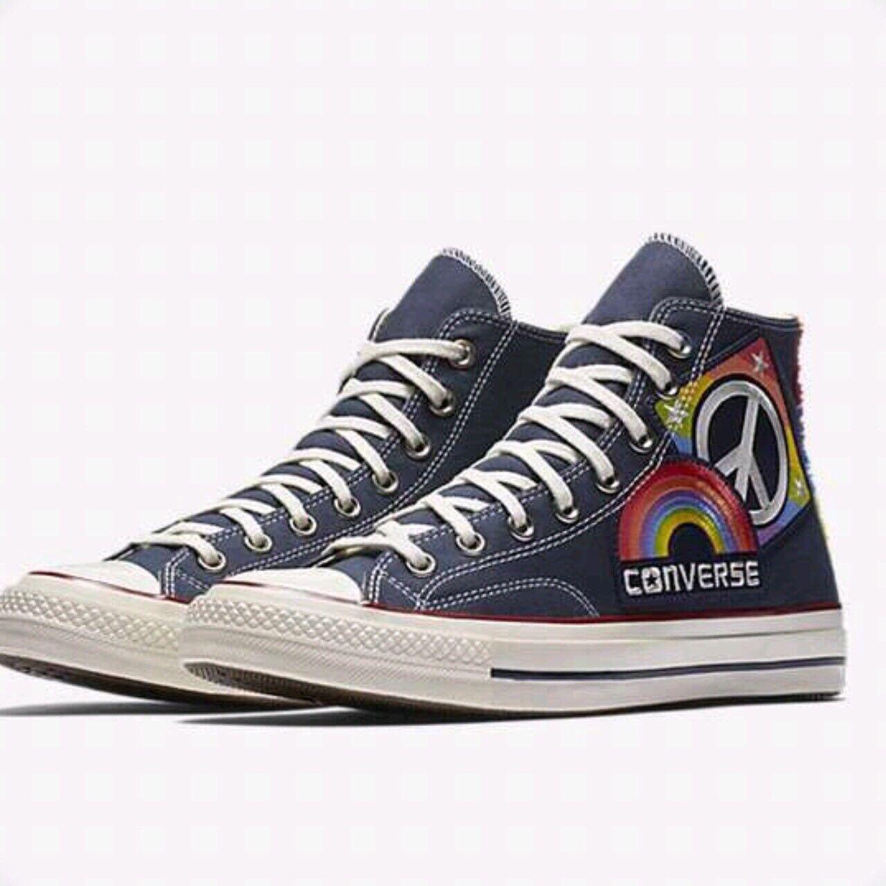 Converse Chuck Taylor All Star Hi Pride Parade HighTop bluee Rainbow Size 12