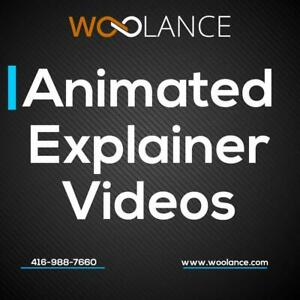 Animated Explainer Videos - Explain Your Service/Product Better. Call Kris at 416-988-7660. Canada Preview