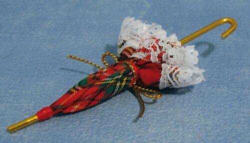 Maison de poupées miniature échelle 1//12th Parasol Parapluie D631 ou D1664