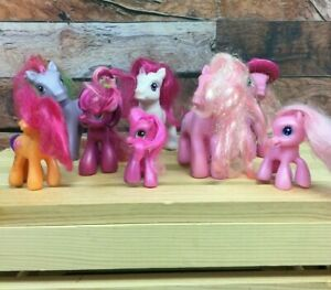 My Little Pony G3 & Others Lot of 8 - Scootaloo, Pinkie Pie, Strawberry Swirl