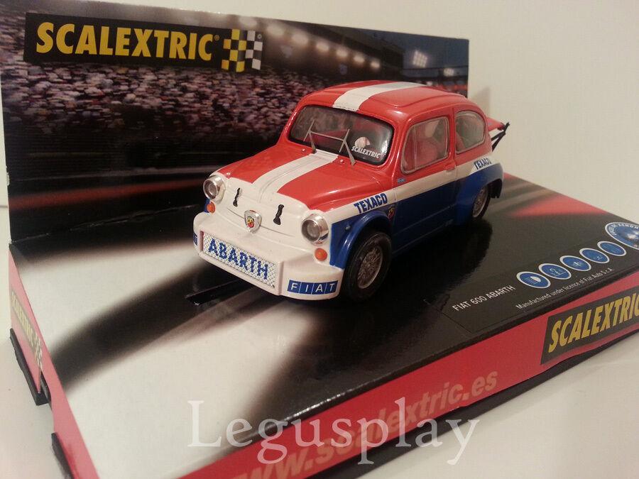 Slot SCX Scalextric 6177 Fiat 600 Abarth  Texaco