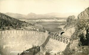 RCCP-Real-Photo-Postcard-AZ-K183-Roosevelt-Dam-Arizona-L-L-Cook-ca1920s