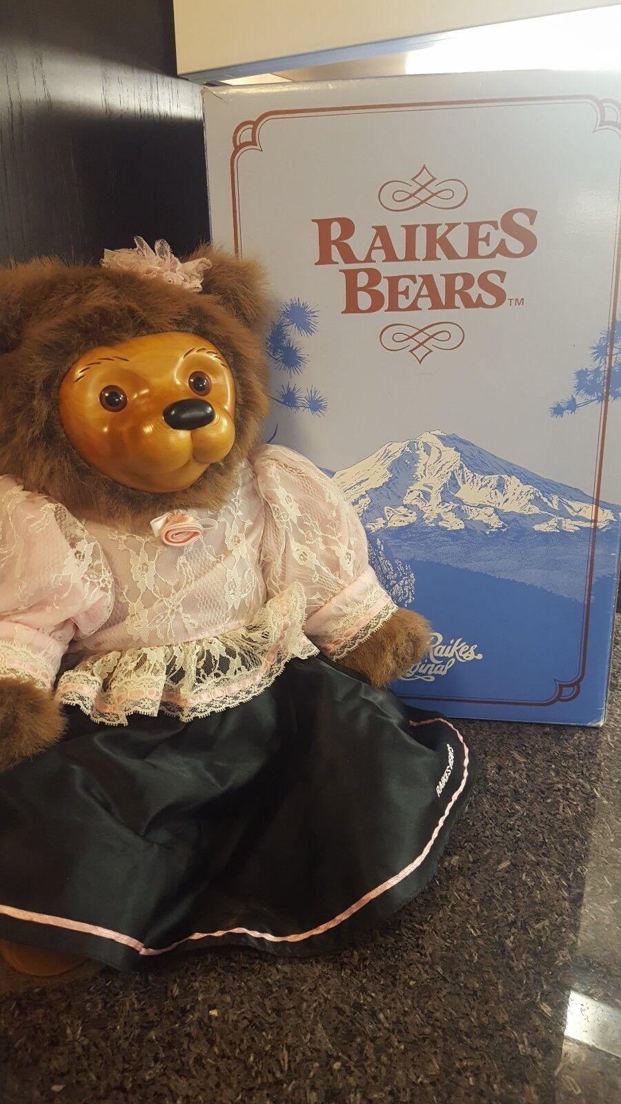 Kittie Old West Teddy Bear, Robert Raikes RARE Doll, Flawless Mint Condition