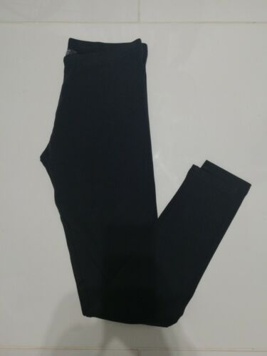 PRIMARK KIDS GIRLS BLACK /& NAVY LEGGINGS AGES 7-8  8-9  9-10 10-11 11-12  12-13