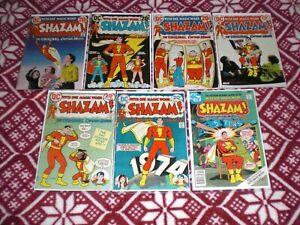 SHAZAM-NO-2-NO11-amp-NO-31-VF-1973-74-DC-COMICS-CAPTAIN-MARVEL-WOW-LQQK