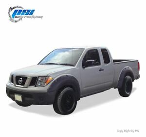 Black-Paintable-Pop-Out-Fender-Flares-05-14-Fits-Nissan-Frontier-73-3-034-Styleside