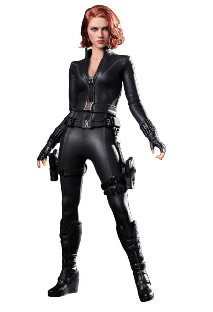 Hot Toys Mms178 The Avengers 1 6th Scale Black Widow Action Figure For Sale Online Ebay
