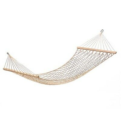 Luxury Wooden Garden Hammock Portable Camping Swing Seat Bed