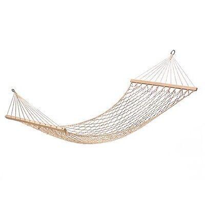 Luxury Wooden Garden Hammock Portable Camping Swing Seat Bed