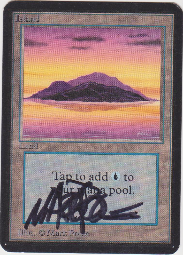 Insel - alpha - (ver.a) vom künstler signiert       (menge   17 von 20) mtg