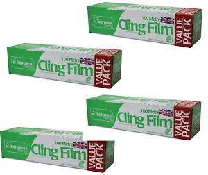 4-x-Kitchen-Catering-Cling-Film-300mm-Wide-x-100m-Long-Food-Wrap-Wrapping