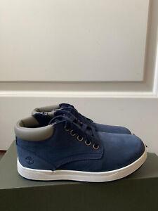 BNWB - Timberland Davis Square Zip Chukka Blue - UK Size I13 Boots  - RRP £60