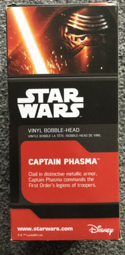Star Wars Captain Phasma Vinyl Figure New Boxed