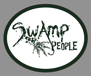 "Swamp People Logo Premium 6/"" Vinyl Decal Bumper Window Sticker"