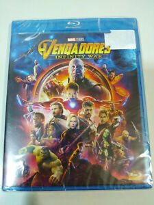 Vengadorers Infinity War Marvel Studios - Blu-Ray + Extra Spagnolo English - Am