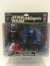 Star Wars MUPPETS Disney Parks Exclusive Gonzo Darth Vader Uncle Deadly Figures