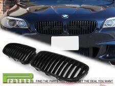 2011-2015 BMW 528i 535i 550i Sedan F10 model Gloss Black Front Kidney Grille