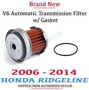 Genuine oem honda ridgeline automatic transmission filter for 2006 honda pilot transmission problems