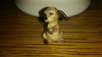 Vintage Miniature Hagen Renaker Cocker Spaniel Pup Ceramic Dog Figurine