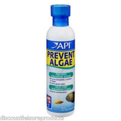 API Prevent Algae Aquarium Fish Tank Anti Algae Treatment - 237ml