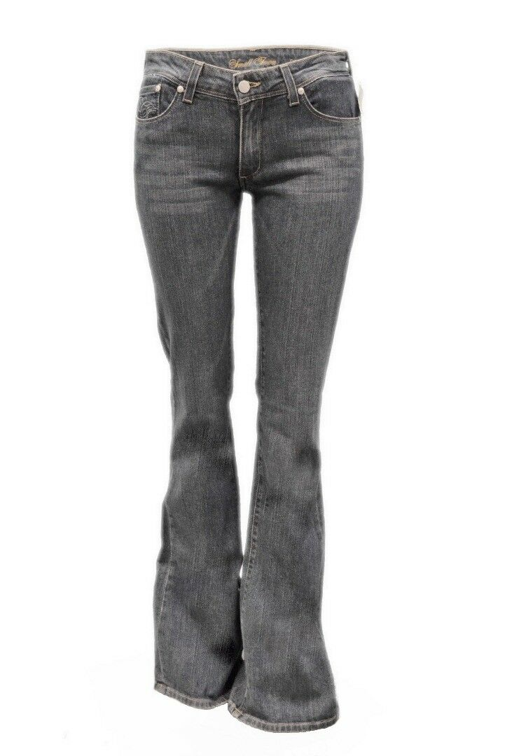 NWT SMALL TOWN Daytona Wash Boot Cut Low Rise Fit Jeans Sz 30 160972(E) TAG