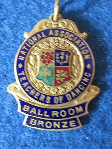 Vintage-National-Association-Teachers-of-Dancing-Medal-Ballroom-Bronze-1957