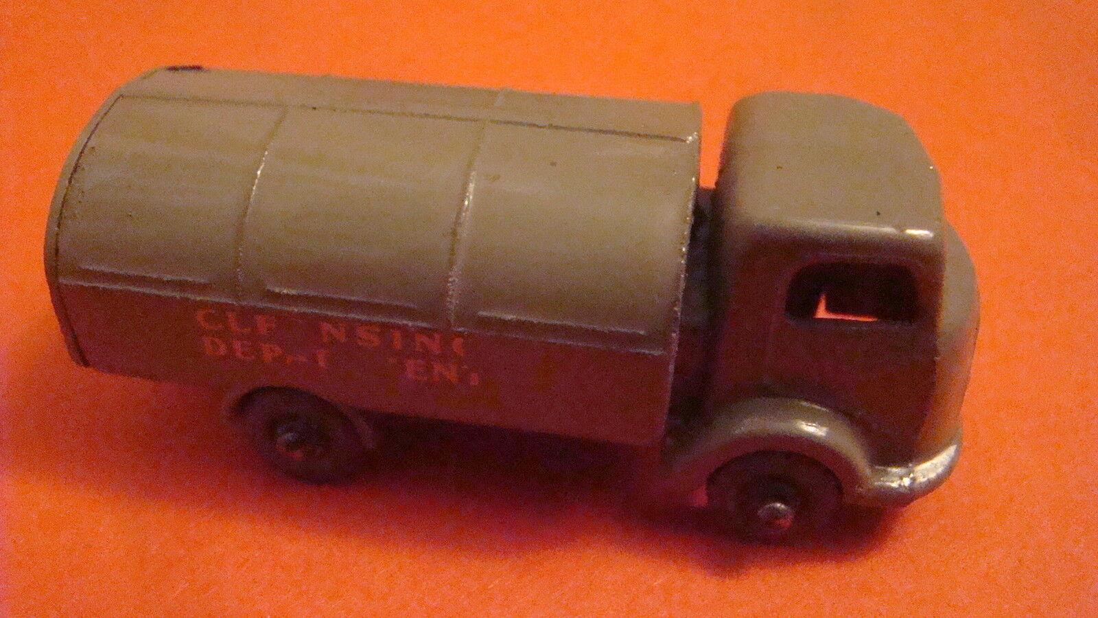 gran selección y entrega rápida Matchbox Regular Rueda 38a Karrier negarse Camión Camión Camión Gris-Marrón Mw 1957  ventas calientes