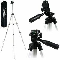 Lightweight Vivitar 50 Pro Photo/video Tripod With Case For Samsung Nx30