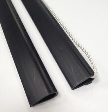 Negro Cartel colgador para 24 Pulgadas Carteles Con Cable