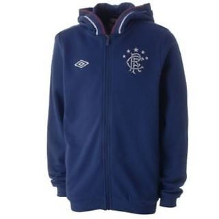 Regal Blue,Small Boys 7-8 Yrs Glasgow Rangers Hoody Sweater Brand New with Tags