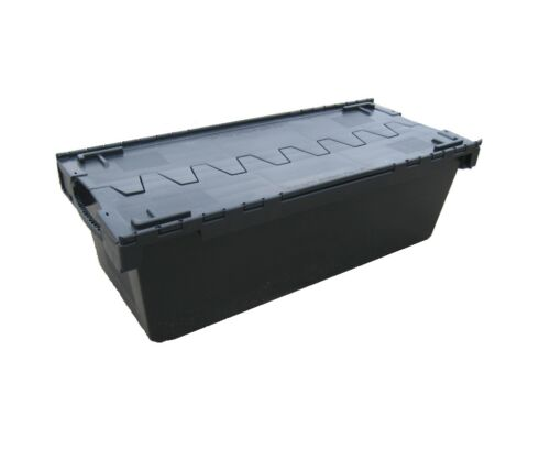 Home Storage Boxes 135 Litre 1 LARGE Nearly New Black Plastic ...