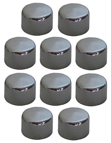"Chrome Allen Bolt Covers Allen Bolt Toppers Chrome Bolt Caps 3//8/"" 10 Pack"