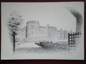 POSTCARD YORKSHIRE SKIPTON CASTLE  MAIN GATE PENCIL SKETCH - Tadley, United Kingdom - POSTCARD YORKSHIRE SKIPTON CASTLE  MAIN GATE PENCIL SKETCH - Tadley, United Kingdom