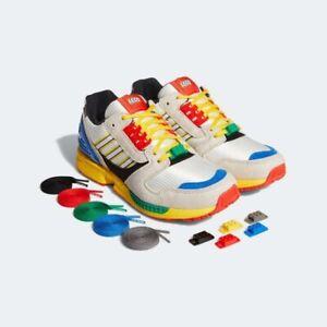 Adidas Originals x Lego ZX 8000 Shoes Sneakers Size 9.5 FZ3482 | eBay