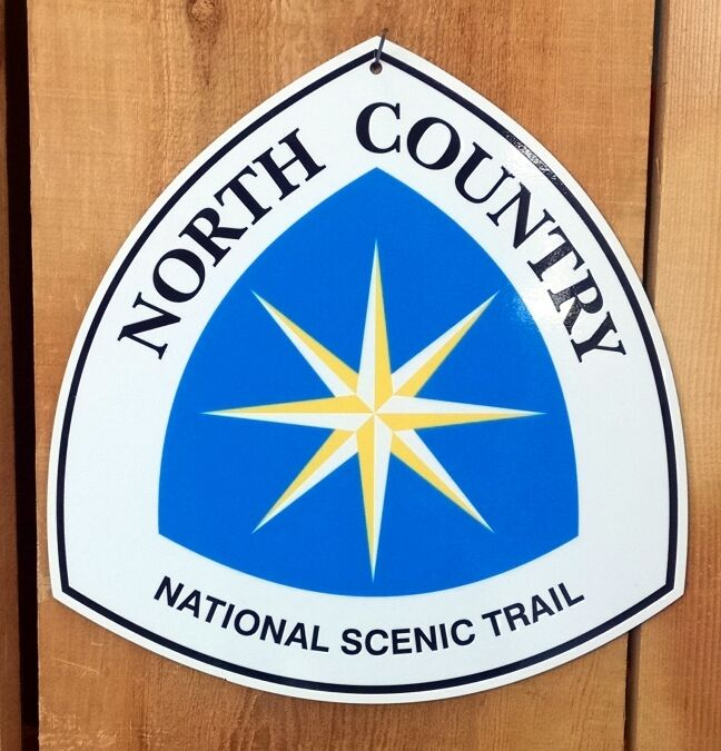 North  Country Scenic Trail Sign 11.5 x12   save up to 70% discount