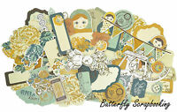 Hidden Treasures Collectables Scrapbooking 50 Pc Die Cuts Kaisercraft