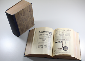Antique-Magazine-The-Medicine-Ibera-Year-1935-Complete-And-Bound-2TOMOS