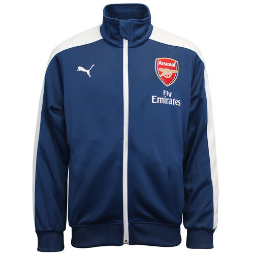 Details about Puma AFC Arsenal T7 Anthem Boys Kids Zip Up Track Top Jacket  746581 03 CC68 c93d4ea4a