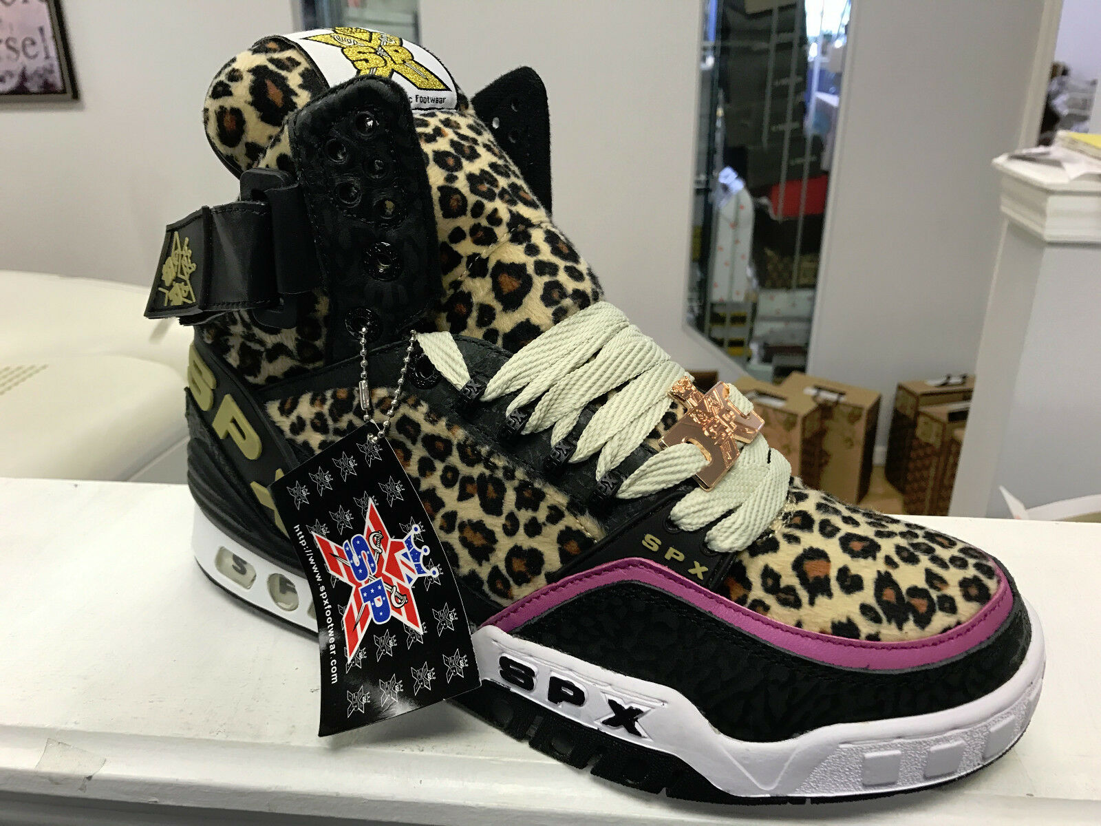 SPX Sneakers. Item Street Walker Hi. Great Look  Size`s,  NEW Hand Made.