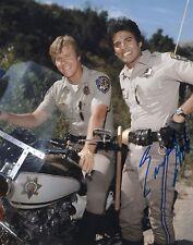 Erik Estrada Chips Actor Ponch Hand Signed 8x10 Autographed Photo COA GD