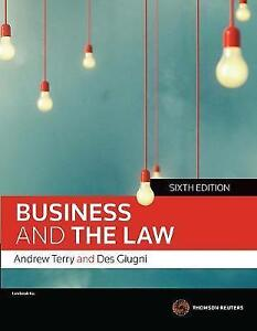 Business-and-the-Law-6th-Edition-by-Andrew-Terry-Paperback-Book-Free-Shipping