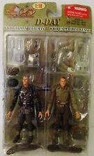 1:18 The Ultimate Soldier D-Day WWII Action Figures Set 21st Century Toys 2008