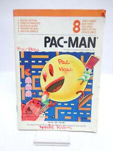 Anleitung-Handbuch-Bedienungsanleitung-Atari-Pac-Man
