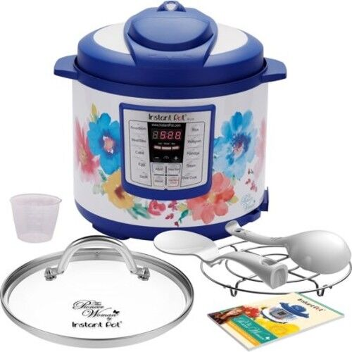Breezy Blossoms 6 Qt 6-in-1 Multi-Use Programmable Pressure Cooker Pioneer Woman