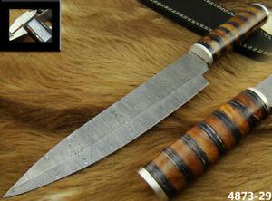 "Alistar 13.4"" Handmade Damascus Knife Hunting, Kitchen/Chef's Knife (4873-29"