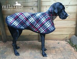 LIMITED-EDITION-039-SNUGGLER-039-custom-Designer-Dog-Jammies-Coat-rug-for-Great-dane