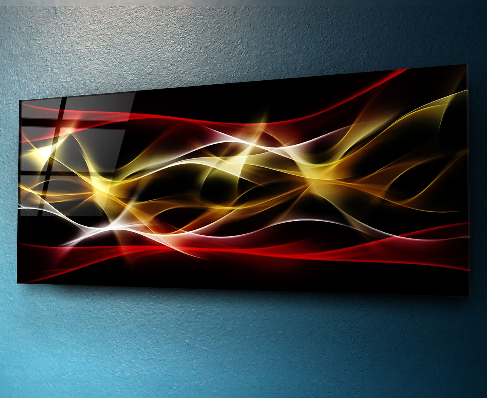 Glass Print Wall Art 125x50cm Image on Glass Decorative Wall Picture 83328267